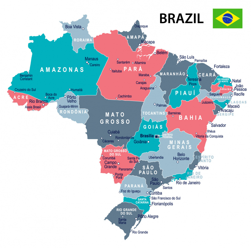 History of the states of Brazil
